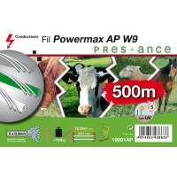 FIL RUBAN CLOTURE ELEC W9 500M